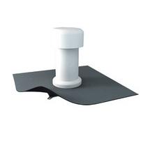Odvětrávací komínek s integrovaným PVC límcem o průměru 75mm