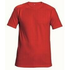 Tričko Cerva TEESTA červená M