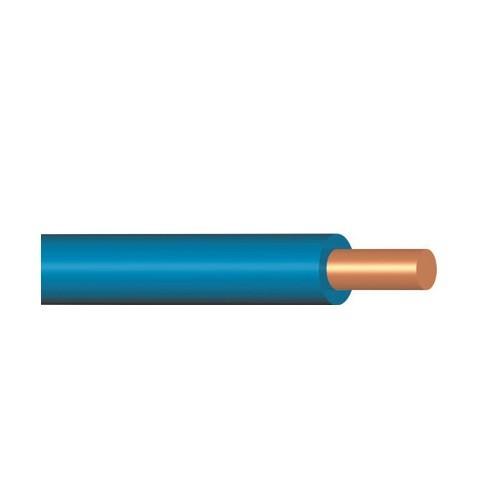 Vodič H07V-U (CY), 10 mm2, světlemodrá