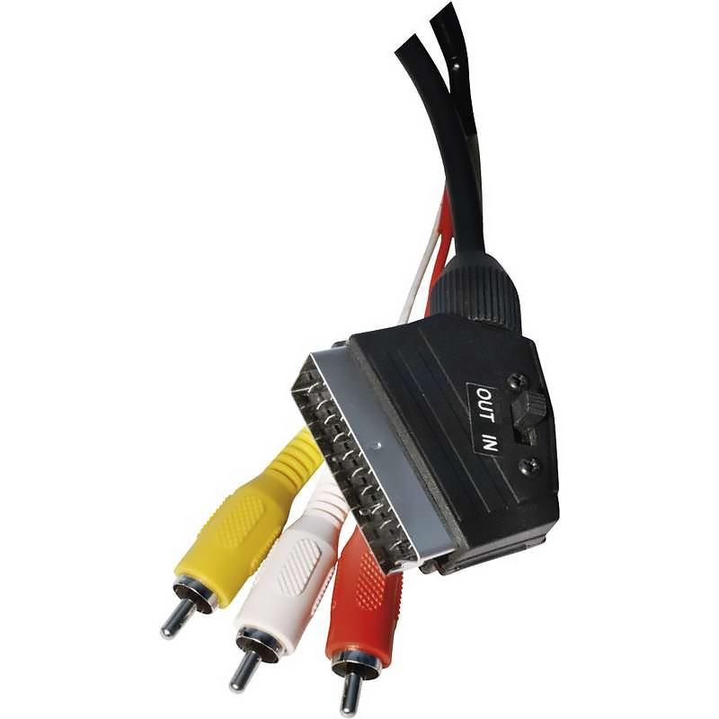 AV kabel SCART/M 3× Cinch