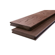 Prkno terasové dřevoplastové DŘEVOplus STANDARD plné wenge 22×140×4000 mm