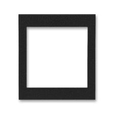 Kryt rámečku 55×55 střední Levit onyx