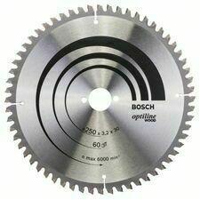 Kotouč pilový Bosch Optiline Wood 250×30×3,2 mm 60 z.