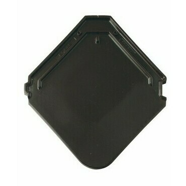 BRAMAC Smaragd základní taška glazura tmavohnědá