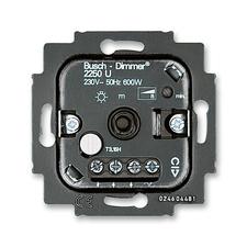 Přístroj stmívače 2250 U pro otočné ovládání a tlačítkové spínání