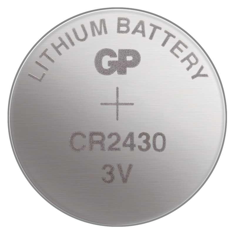 Baterie knoflíková CR2430 GP Lithium