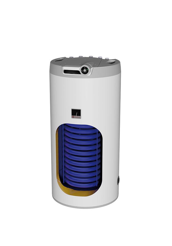 Nepřímotopný zásobník vody Dražice OKH 125 NTR/HV, stacionární