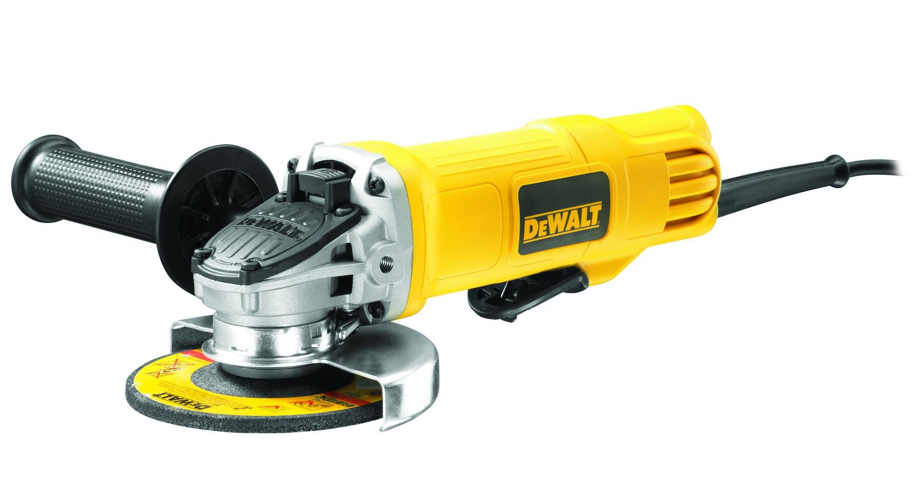 Úhlová bruska DeWALT 115 mm, 900 W