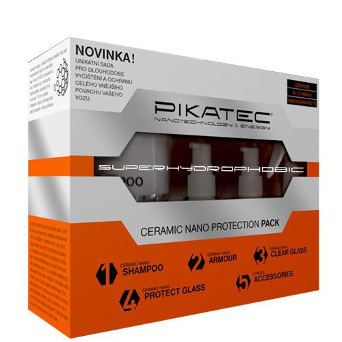 Sada nanokosmetiky na auto PIKATEC Ceramic