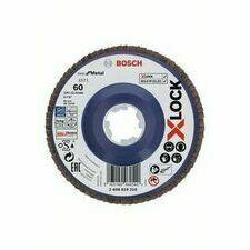 Kotouč brusný lamelový Bosch X571 Best for Metal X-LOCK 125×22,23 mm 60 10 ks
