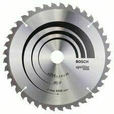 Kotouč pilový Bosch Optiline Wood 254×30×2 mm 40 z.