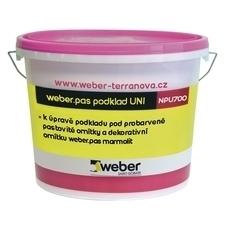 Penetrace weberpas podklad UNI bílá 1 kg