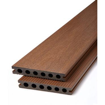 Prkno terasové dřevoplastové DŘEVOplus PROFI teak 23×138×4000 mm