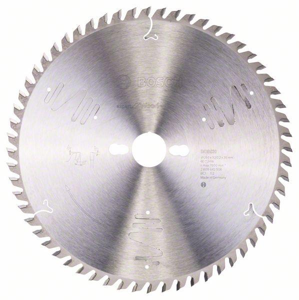 Kotouč pilový Bosch Expert for Wood 250×30×2,2 mm 60 z.