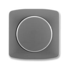 Kryt stmívače s otočným ovladačem Tango kouřová šedá