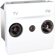 Zásuvka TV/R koncová, Unica polar