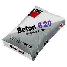 Beton konstrukční Baumit Beton B 20 25 kg