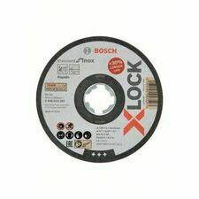 Kotouč řezný korundový Bosch Standard for Inox X-LOCK 125×22,23×1 mm 25 ks