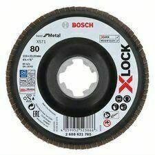 Kotouč brusný lamelový Bosch X571 Best for Metal X-LOCK 115×22,23 mm 80 10 ks