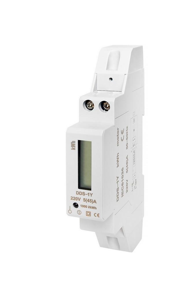 Elektroměr DDS-1Y-18L 45A, cena za ks