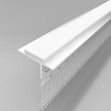 Profil okenní parapetní ETICS LPE plastový s tkaninou