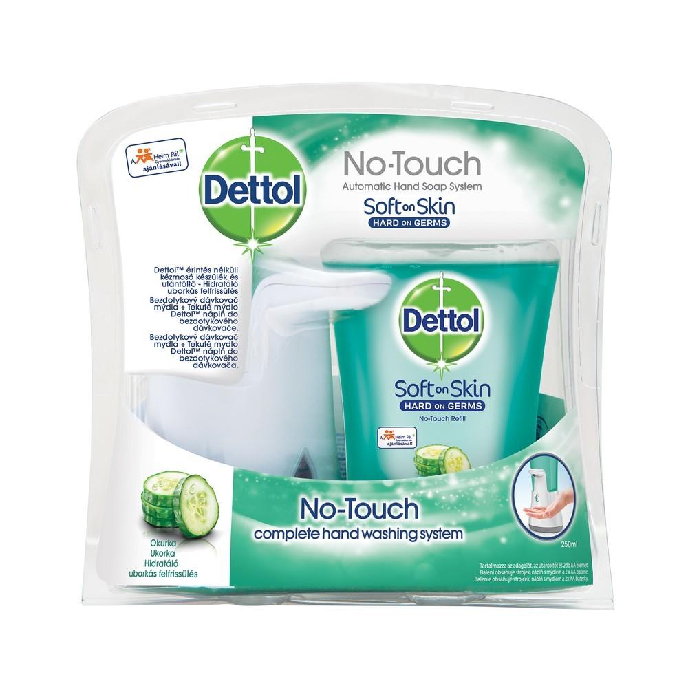 Bezdotykový dávkovač mýdla DETTOL Okurka 250 ml