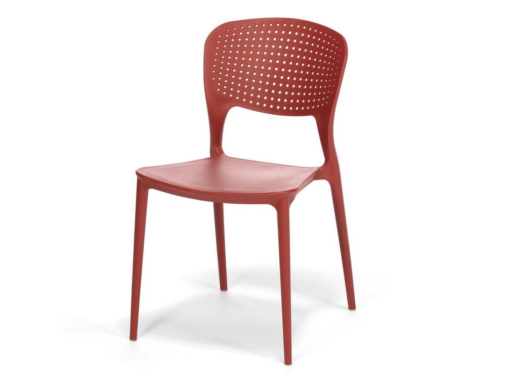 Plastová židle WENDY červená, cena za ks
