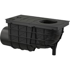 Lapač střešních splavenin DEK DN 100 boční - černá