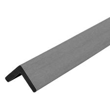 Lišta L dřevoplastová DŘEVOplus PROFI grey 40×40×2000 mm