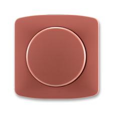 Kryt stmívače s otočným ovladačem Tango vřesová červená