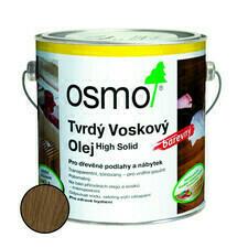 Olej tvrdý voskový Osmo 3075 černý 0,75 l