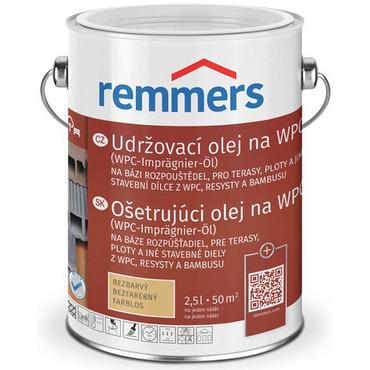 Impregnace olejová Remmers WPC bezbarvá 2,5 l