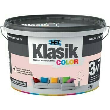 Malba interiérová HET Klasik Color grepový, 4 kg