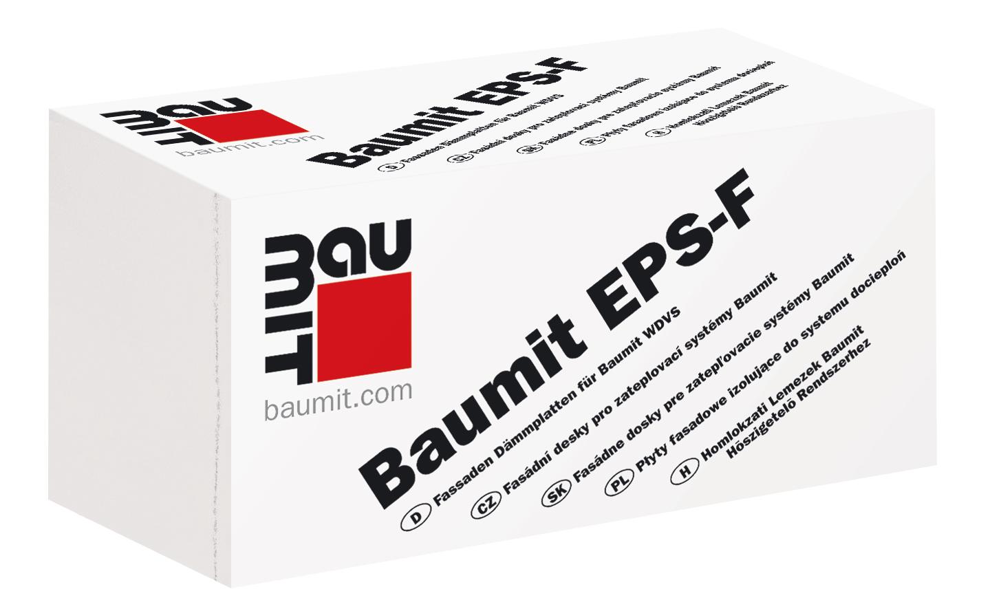 Fasádní polystyren EPS 70F BAUMIT 120 mm (1000x500 mm)