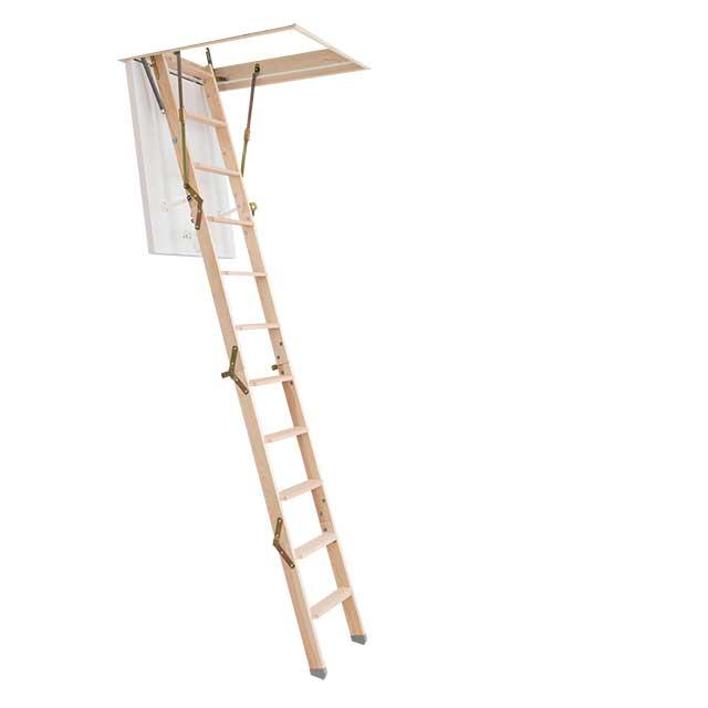 Půdní schody Click FIX 36 MINI 92,5 x 60 cm 280/4