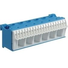 Blok bezšroubové N svorkovnice, 26 svorek Hager KN26N
