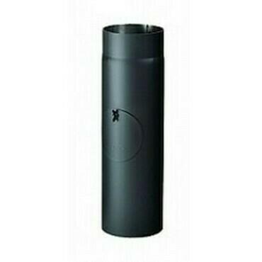 Trubka revizní odkouření černá DN 160/1000 mm