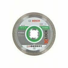 Kotouč řezný diamantový Bosch Standard for Ceramic X-LOCK 125×22,23×1,6×7 mm