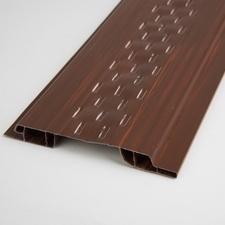 Profil ventilační plastový mahagon 100x9×3000 mm