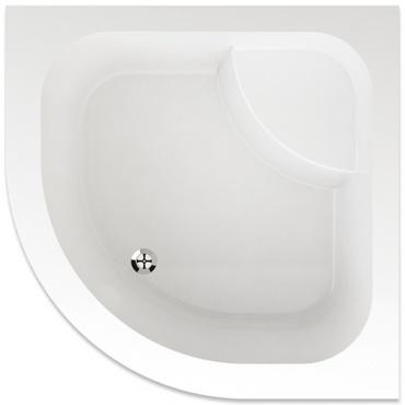 Vanička sprchová čtvrtkruh Teiko ARGO 900×900×350 mm akryl