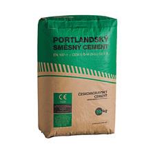 Portlandský směsný cement ČESKOMORAVSKÝ CEMENT 32,5R  25 kg