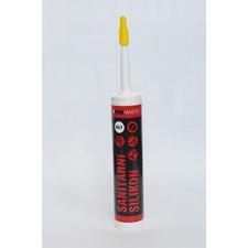 Sanitární silikonový spárovací tmel Dekmastic čirý balení 310ml