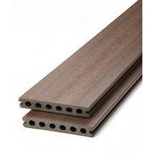 Prkno terasové dřevoplastové DŘEVOplus PROFI walnut 23×138×4000 mm