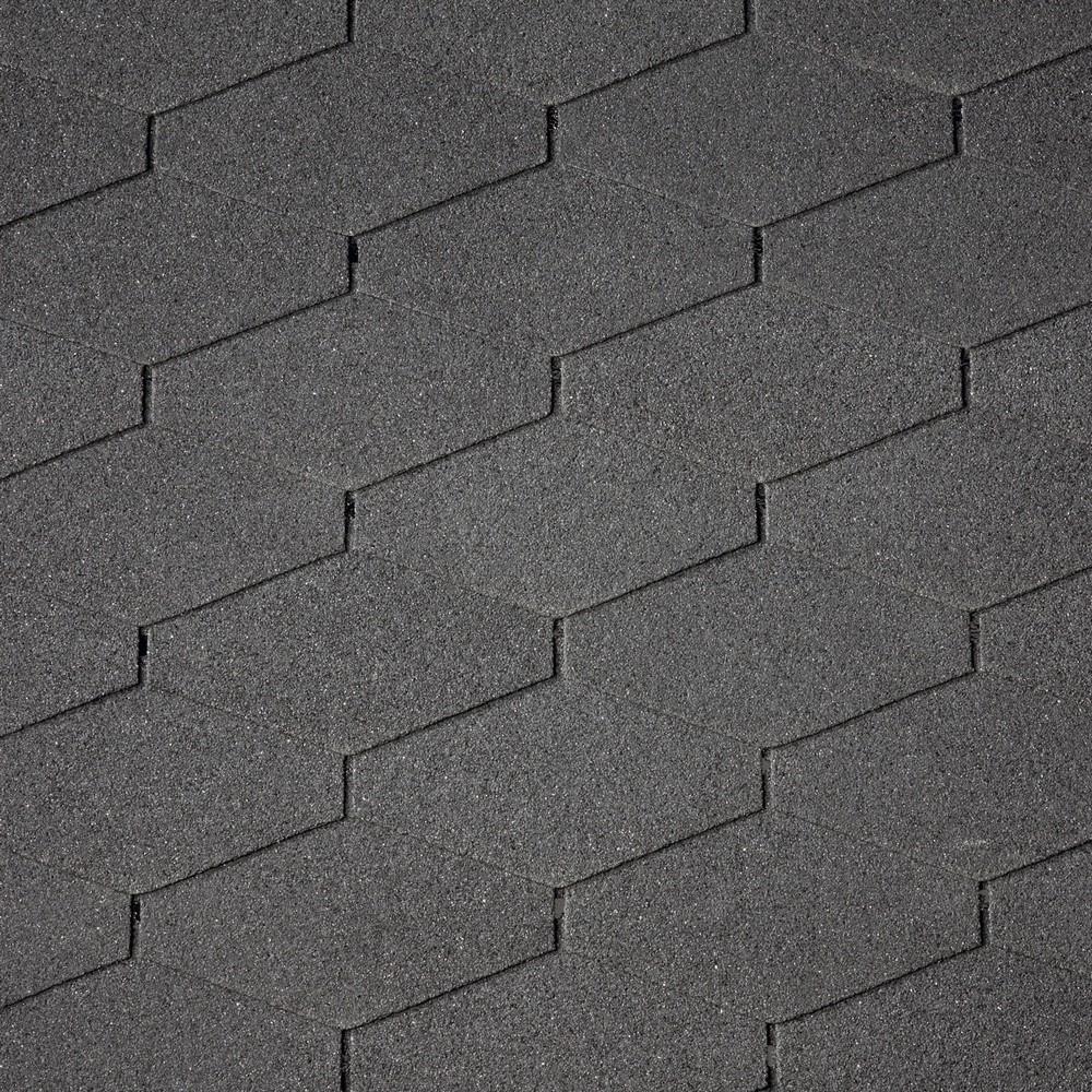 Asfaltový šindel IKO DiamantShield 01 černá