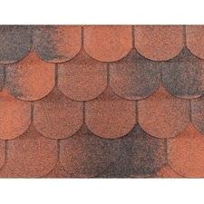 Šindel asfaltový Tegola ECO roof traditional červený mix 3,05 m2