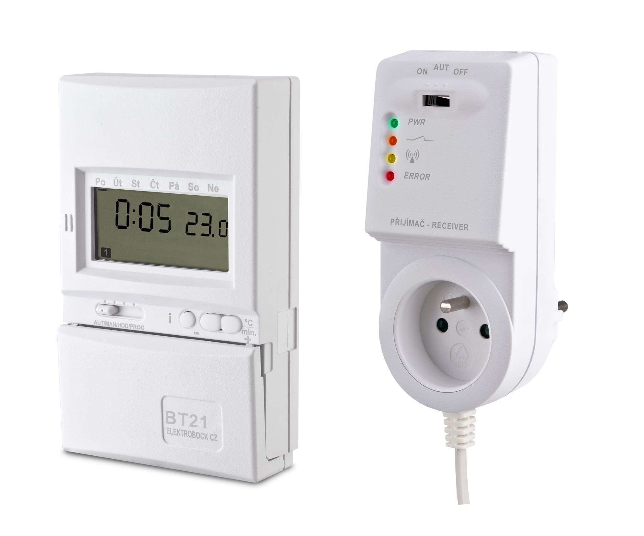 Digitální termostat připojte