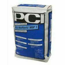 Minerální zatíraná omítka PCI MSP 1,0mm, 25 kg