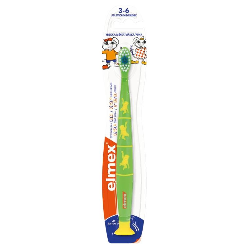Dětský zubní kartáček ELMEX Children 3-6, cena za ks