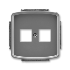 Kryt zásuvky komunikační a reproduktorové Tango kouřová šedá