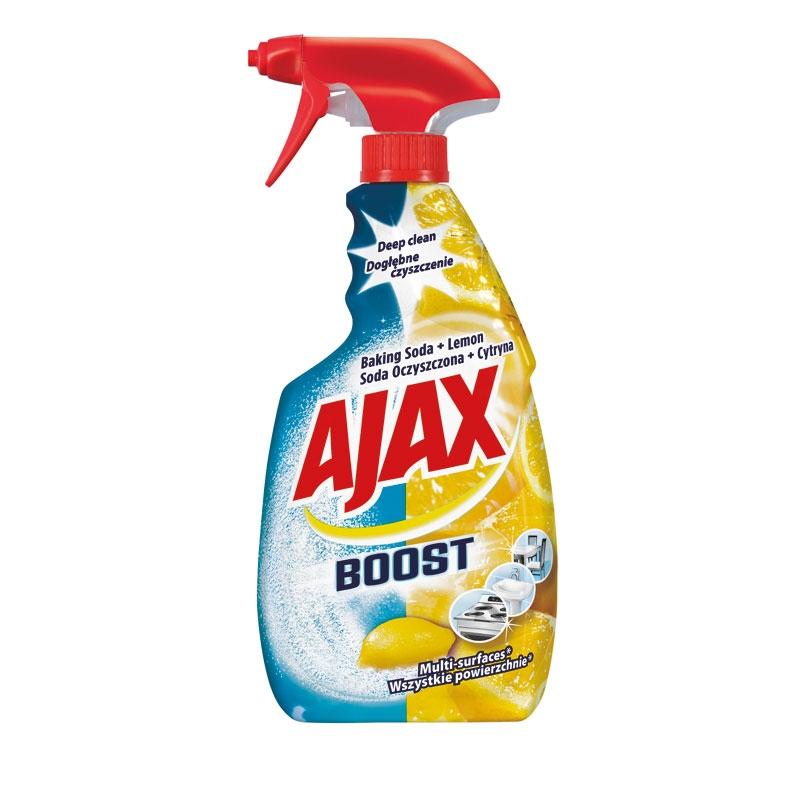 Čistící sprej na všechny povrchy AJAX Boost Baking Soda & Lemon 500 ml, cena za ks